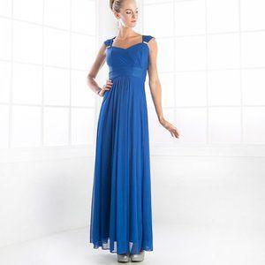 Royal Long Bridesmaid Gown CD3831